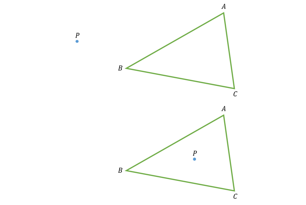point-triangle