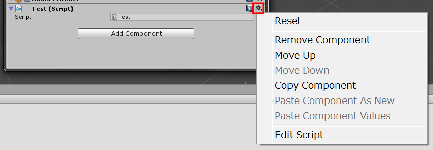 [Unity] インスペクタ上からオリジナルのメソッドを実行する